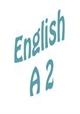 Езиково ниво A 2
